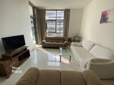 فلیٹ 1 غرفة نوم للايجار في داماك هيلز (أكويا من داماك)، دبي - Fully Furnished - Great Community - Balcony