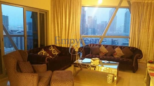 Amazing Large 2 Bedroom with Balcony in Park Towers DIFC inc Parking