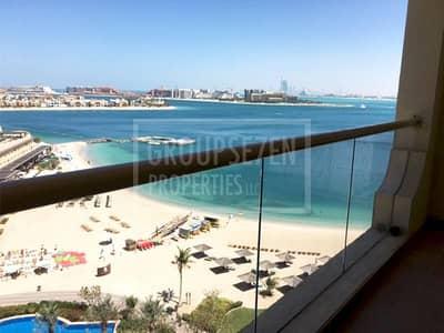 شقة 1 غرفة نوم للايجار في نخلة جميرا، دبي - Stunning Sea view 1 Bedroom Apartment in Al Msalli