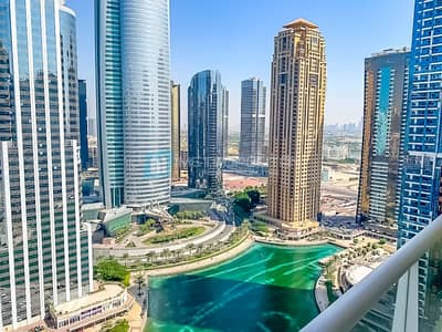 1 Bedroom Apartment for Rent in Jumeirah Lake Towers (JLT), Dubai - Amazing Lake View I Furnished I High floor