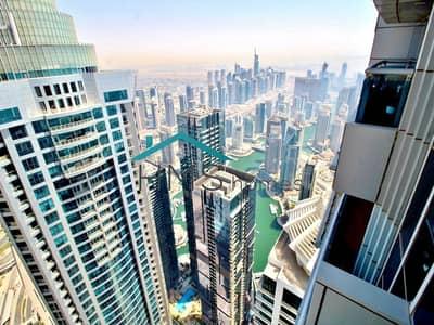 1 Bedroom Flat for Rent in Dubai Marina, Dubai - Exclusive   1BR High floor   Marina View   Keys with me