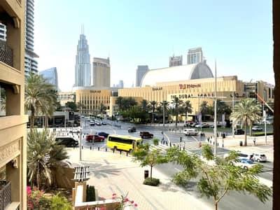 شقة 2 غرفة نوم للايجار في المدينة القديمة، دبي - FULLY FURNISHED |EXTRA STORAGE|DOWNTOWN VIEW