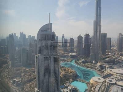 فلیٹ 3 غرف نوم للبيع في وسط مدينة دبي، دبي - BIGGEST LAYOUT /HIGH FLOOR/ FULL BURJ KHALIFA VIEW