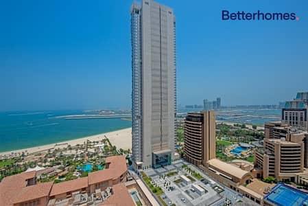 فلیٹ 4 غرف نوم للبيع في جميرا بيتش ريزيدنس، دبي - Full Sea   Half Floor  Vacant  Unfurnished