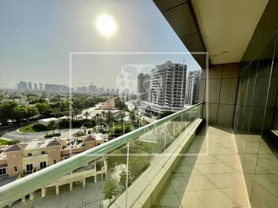 1 Bedroom Flat for Rent in Dubai Sports City, Dubai - Amazing Golf View  |  Chiller Free  | Maids Room