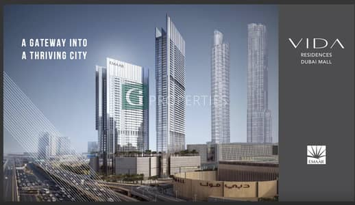 2 Bedroom Apartment for Sale in Downtown Dubai, Dubai - Burj & Fountain View | Resale | Luxurious
