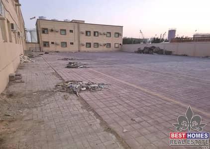 Plot for Rent in Al Jurf, Ajman - Open land with 150 kw electricity for rent in Al Jurf area