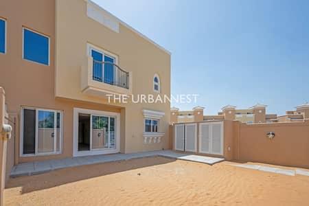 تاون هاوس 4 غرف نوم للايجار في مدينة دبي الرياضية، دبي - Corner Plot   Single Row   Great Location