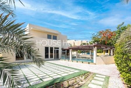 4 Bedroom Villa for Sale in Arabian Ranches, Dubai - Totally Unique 4 Bedroom Saheel Generous Plot Size