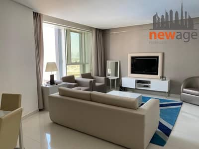 1 Bedroom Flat for Rent in Business Bay, Dubai - FULLY FURNISHED ONE BEDROOM CLOSE TO DUBAI MALL