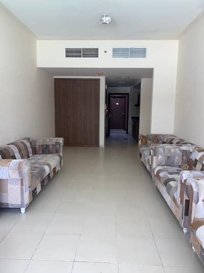 Studio for Rent in Al Sawan, Ajman - studio garden view with parking for rent in Ajman one tower