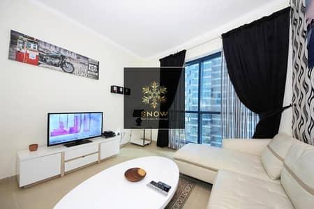 فلیٹ 1 غرفة نوم للايجار في أبراج بحيرات الجميرا، دبي - Luxurious 1bhk Chiller free & balcony