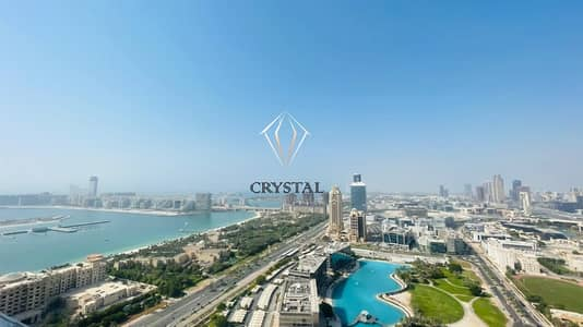 3 Bedroom Apartment for Sale in Dubai Marina, Dubai - Stunning Sea View! 3BR High Floor! with Kitchen Appliances