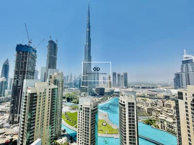 شقة 2 غرفة نوم للايجار في وسط مدينة دبي، دبي - Spacious | Burj Khalifa view | High Floor | 2Bed