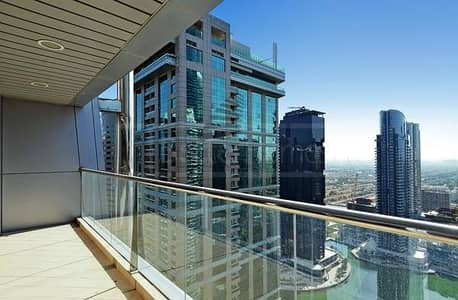 1 Bedroom Apartment for Rent in Jumeirah Lake Towers (JLT), Dubai - SPACIOUS 1 BR WITH BALCONY JLT VIEW NEAR METRO IN LAKE CITY TOWER JLT/ GREAT REASONABLE PRICE