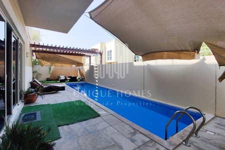5 Bedroom Villa for Rent in Al Raha Gardens, Abu Dhabi - Premium location with swimming pool