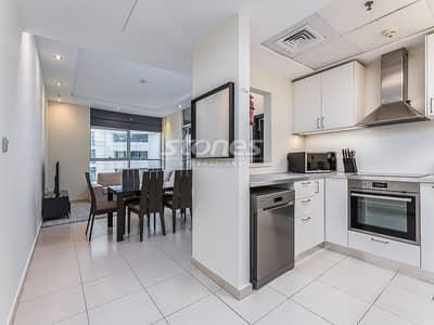 2 Bedroom Apartment for Sale in Dubai Marina, Dubai - Sea and Marina Views Fully Furnished with Study