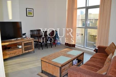 2 Bedroom Flat for Rent in Jumeirah Village Circle (JVC), Dubai - OP   2BHK Furnished Shamal Waves JVC