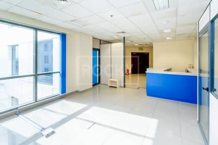 Office for Rent in Dubai Investment Park (DIP), Dubai - Fitted Office | Low Floow | 4 Parking | DIP