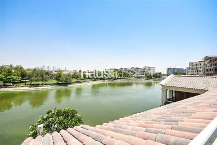 3 Bedroom Apartment for Sale in Motor City, Dubai - Vacant | Large Terrace | 3 bed + Maids | Lake View
