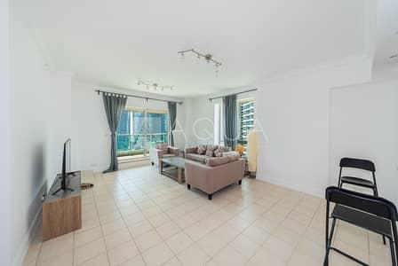 شقة 2 غرفة نوم للايجار في دبي مارينا، دبي - Vacant | Fully Furnished | Amazing View