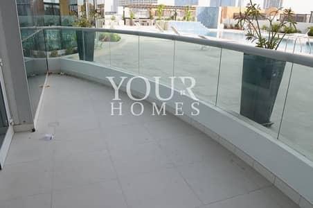 فلیٹ 1 غرفة نوم للبيع في قرية جميرا الدائرية، دبي - OP   NEW_ pool view_ Spacious Terrace _vacant