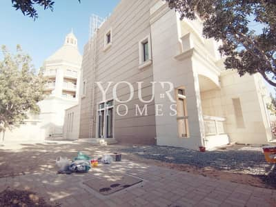 4 Bedroom Townhouse for Sale in Jumeirah Village Circle (JVC), Dubai - SB | Corner 4BR+Maid, master Bed with jacuzzi