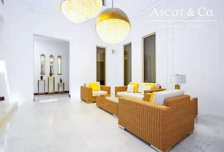 7 Bedroom Villa for Rent in Al Barari, Dubai - STUNNING|7 BED MANSION IN AL BARARI|JULY