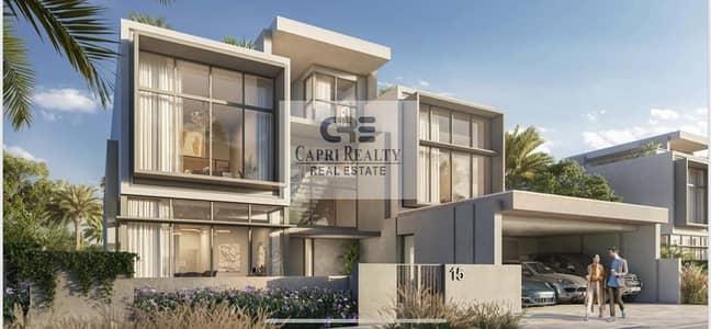 5 Bedroom Villa for Sale in Dubai Hills Estate, Dubai - Ellie Saab designer villas| Golf course villas with payment plan