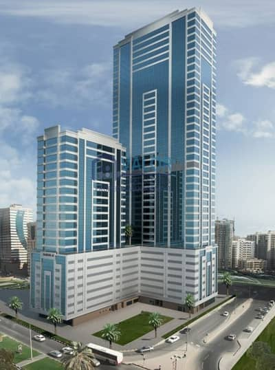 محل تجاري  للايجار في النهدة، الشارقة - SPACIOUS SHOP / SAHARA TOWER-6 / SHARJAH