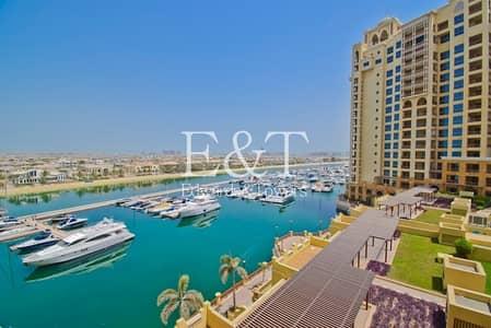 فلیٹ 2 غرفة نوم للبيع في نخلة جميرا، دبي - Mid Floor |Extended Balcony |Marina Views |Rented