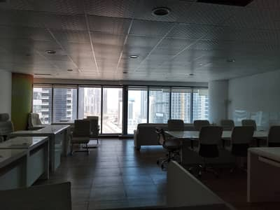 Office for Rent in Business Bay, Dubai - Ready Furnished Office Canal View Prime Location Best For any Commercial Activity
