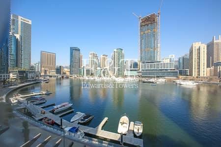 3 Bedroom Villa for Rent in Dubai Marina, Dubai - Upgraded Duplex Podium Villa | Full Marina View