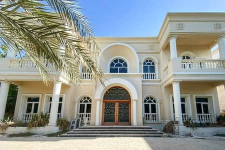 6 Bedroom Villa for Sale in Emirates Hills, Dubai - Bespoke Italian Renaissance Mansion With Swimming Pool
