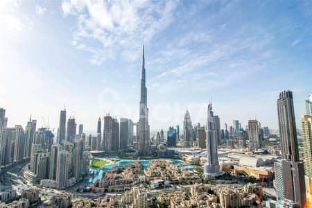 شقة 3 غرف نوم للايجار في وسط مدينة دبي، دبي - Furnished / Burj View / Mid Floor