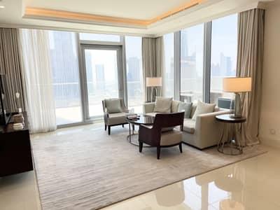 فلیٹ 2 غرفة نوم للبيع في وسط مدينة دبي، دبي - Unique unit | Outstanding views