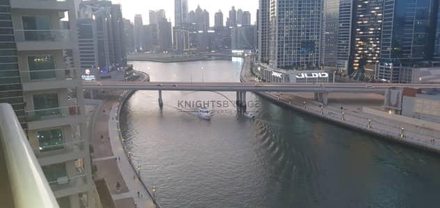 فلیٹ 2 غرفة نوم للايجار في الخليج التجاري، دبي - 1 Month Free | Canal & Burj View | 2 Balconies