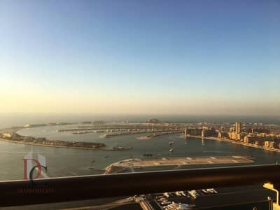 Furnished 2 BR Full Sea View| Higher Floor in Princess Tower