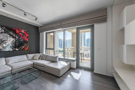 شقة 1 غرفة نوم للايجار في وسط مدينة دبي، دبي - Vacant | Semi furnished | Upgraded interior