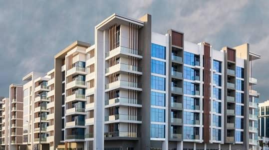 فلیٹ 1 غرفة نوم للايجار في الميناء، دبي - wasl port views building 9