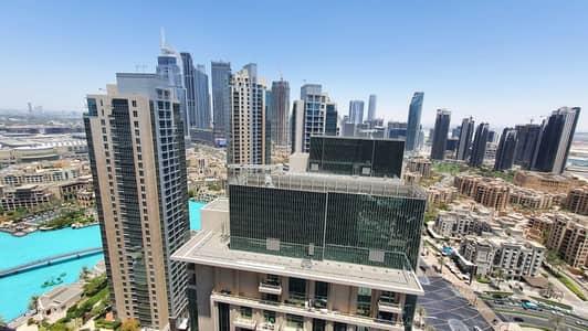 فلیٹ 2 غرفة نوم للايجار في وسط مدينة دبي، دبي - Full Fountain and Blvd View/Best Unit/High Floor