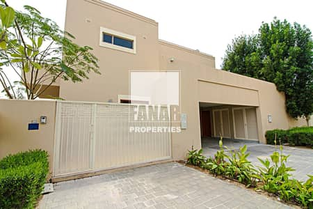 4 Bedroom Villa for Rent in Al Raha Gardens, Abu Dhabi - Big Layout 4BR Villa with Private Garden and Pool!