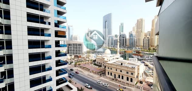 Studio for Rent in Dubai Marina, Dubai - Studio With Good View  In Escan Marina Tower Dubai Marina