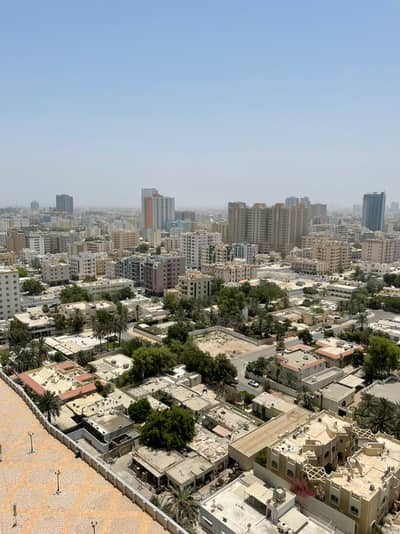 1 Bedroom Flat for Sale in Corniche Ajman, Ajman - City view