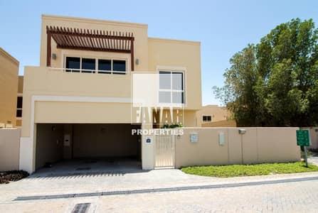 4 Bedroom Townhouse for Rent in Al Raha Gardens, Abu Dhabi - Huge Garden | Prime Loc. Type S 4BR TH with Garden
