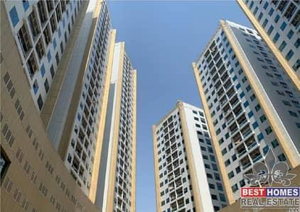 شقة 1 غرفة نوم للايجار في عجمان وسط المدينة، عجمان - شقة في أبراج لؤلؤة عجمان عجمان وسط المدينة 1 غرف 20000 درهم - 5197180