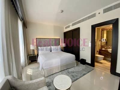 شقة فندقية 1 غرفة نوم للايجار في وسط مدينة دبي، دبي - Spacious 1BR Fully Serviced | All Bills Inclusive