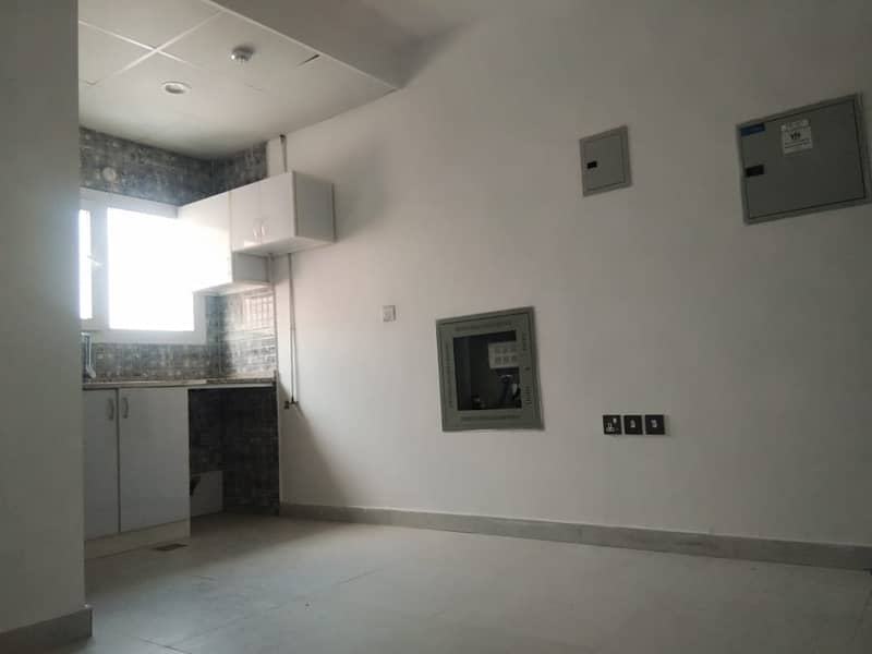 Studio Available for Rent In Very Good Building In Muwailah - Sharjah. 1 Month free