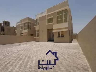 5 Bedroom Villa for Sale in Al Rawda, Ajman - For urgent sale own your own villa for you and your family without down payments Personal finishing without down payment Two floors on the permanent street Freehold for life Own your dream villa in Ajman with central air conditioning This is the perfect t