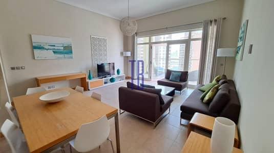 فلیٹ 2 غرفة نوم للايجار في نخلة جميرا، دبي - Fully Furnished | Sea View | Chiller Free | Beach Access